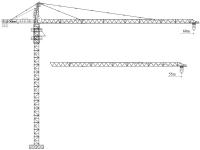 Башенный кран QTZ100 (6010Y-8)
