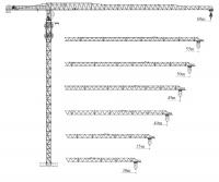 Башенный кран XGT200-6022